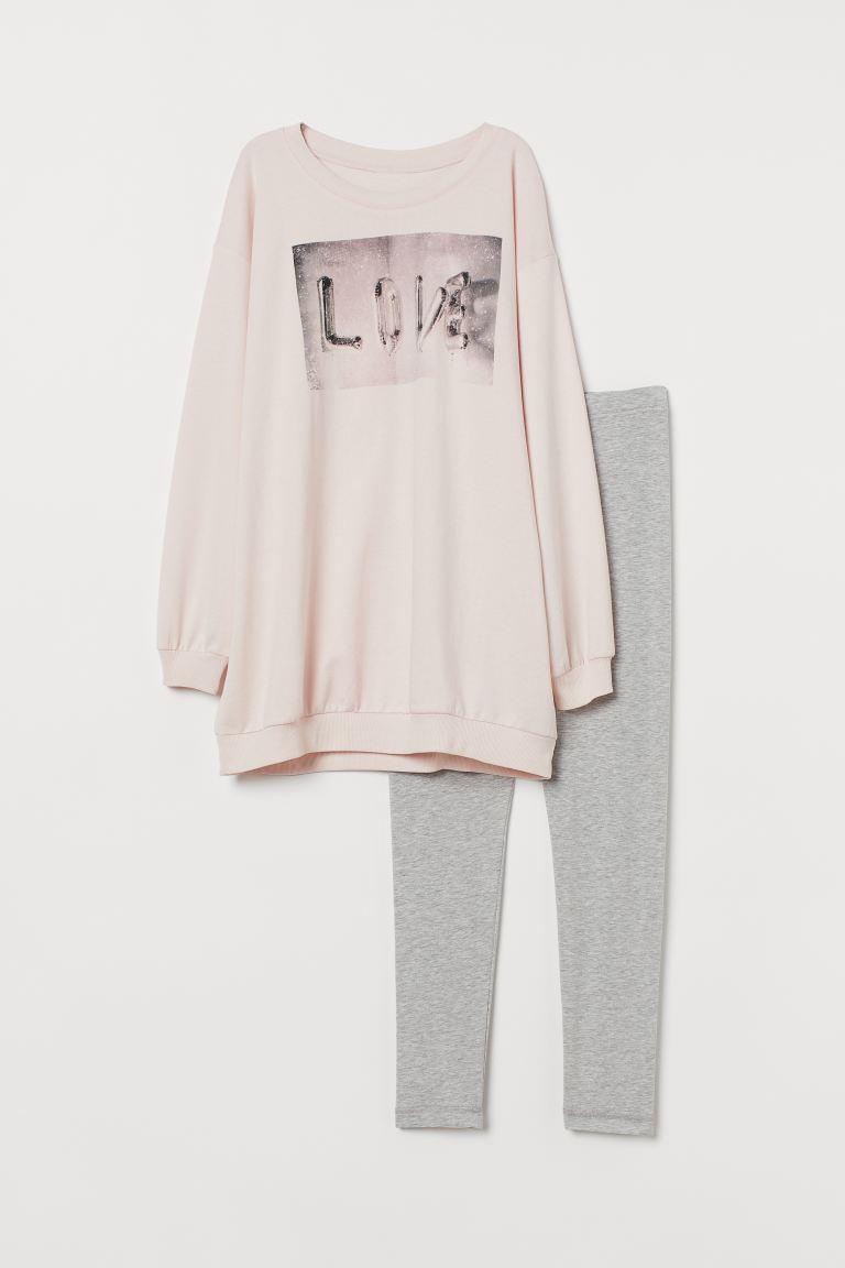 pyjamas tröja dam