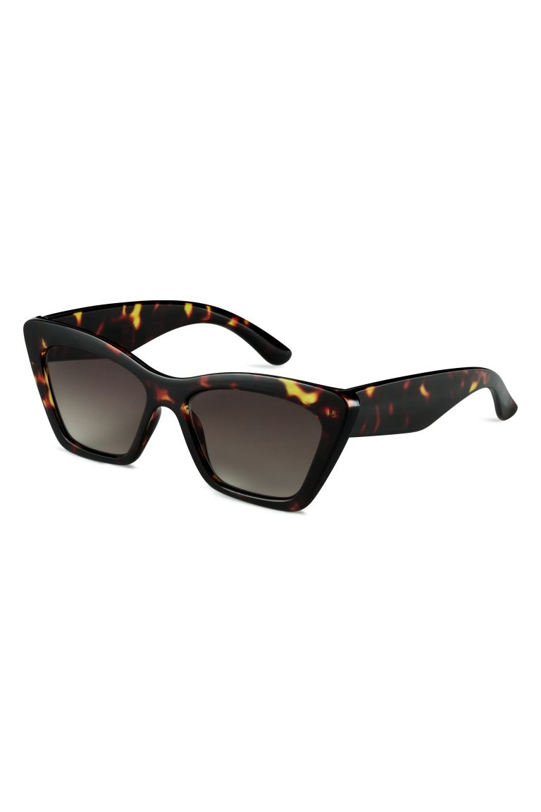 Sunglasses - Dark brown/Tortoiseshell - Ladies | H&M IE