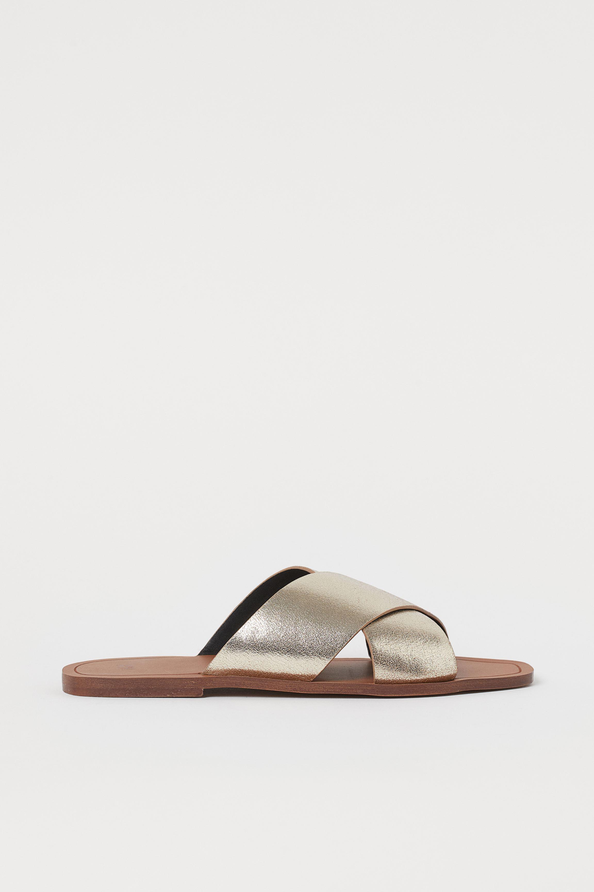 Leather Slides