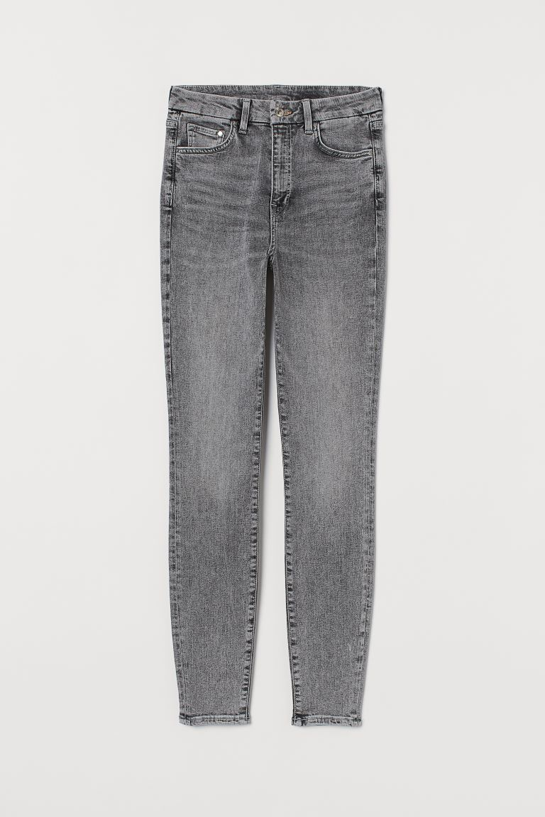 Embrace High Ankle Jeans - Denim grey - Ladies | H&M GB