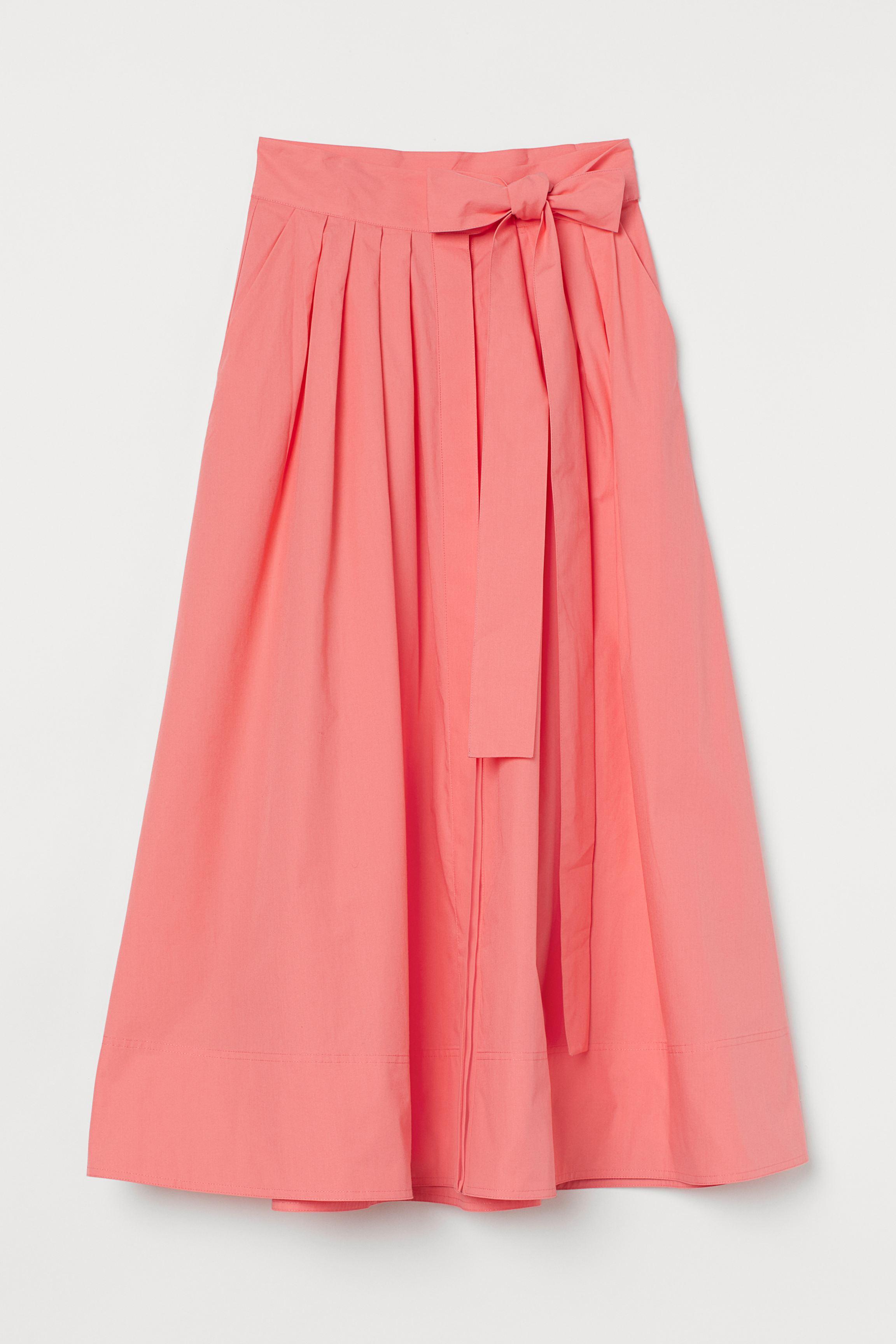 Flared Cotton Skirt