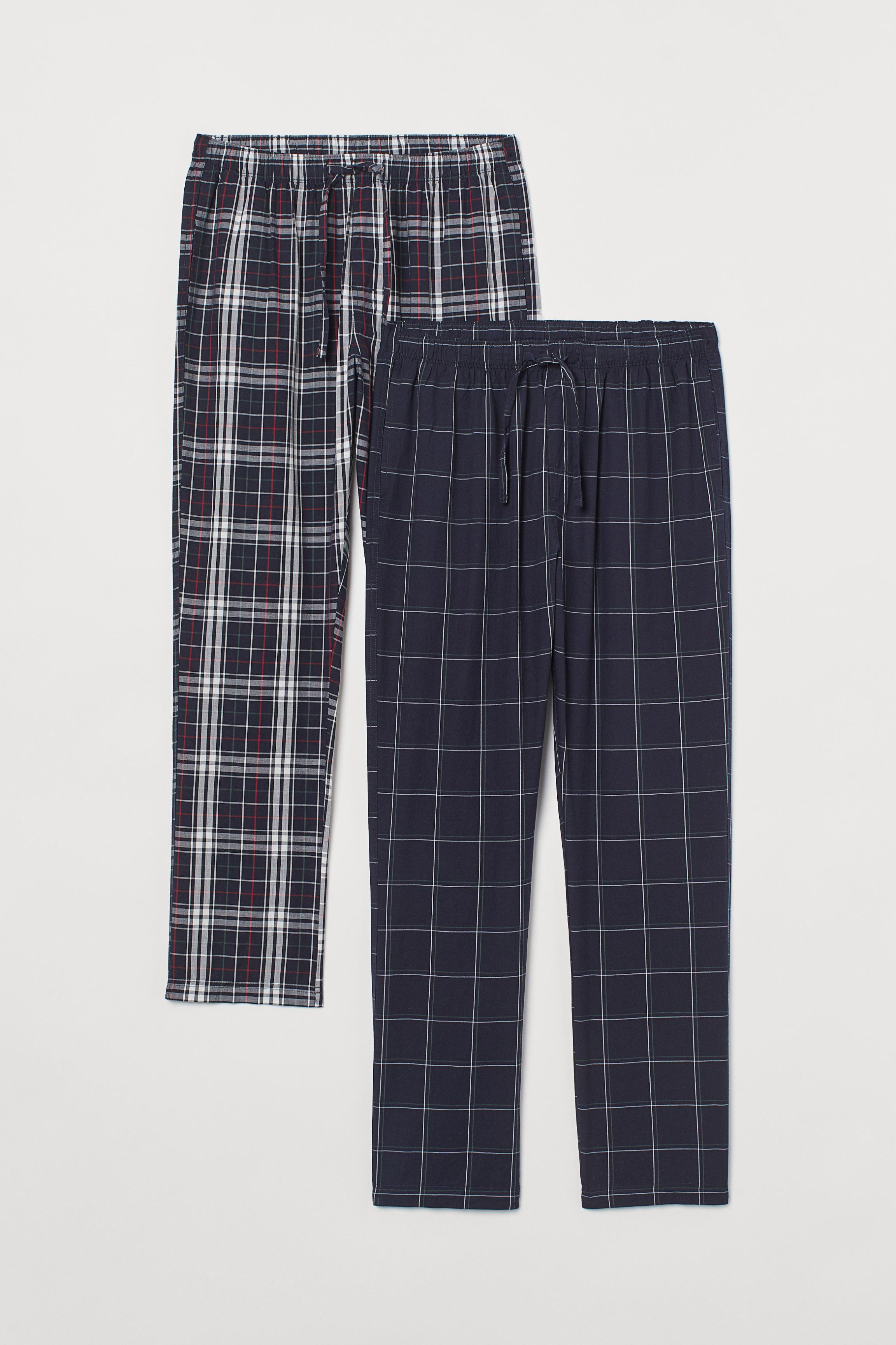 2-pack Cotton Pajama Pants