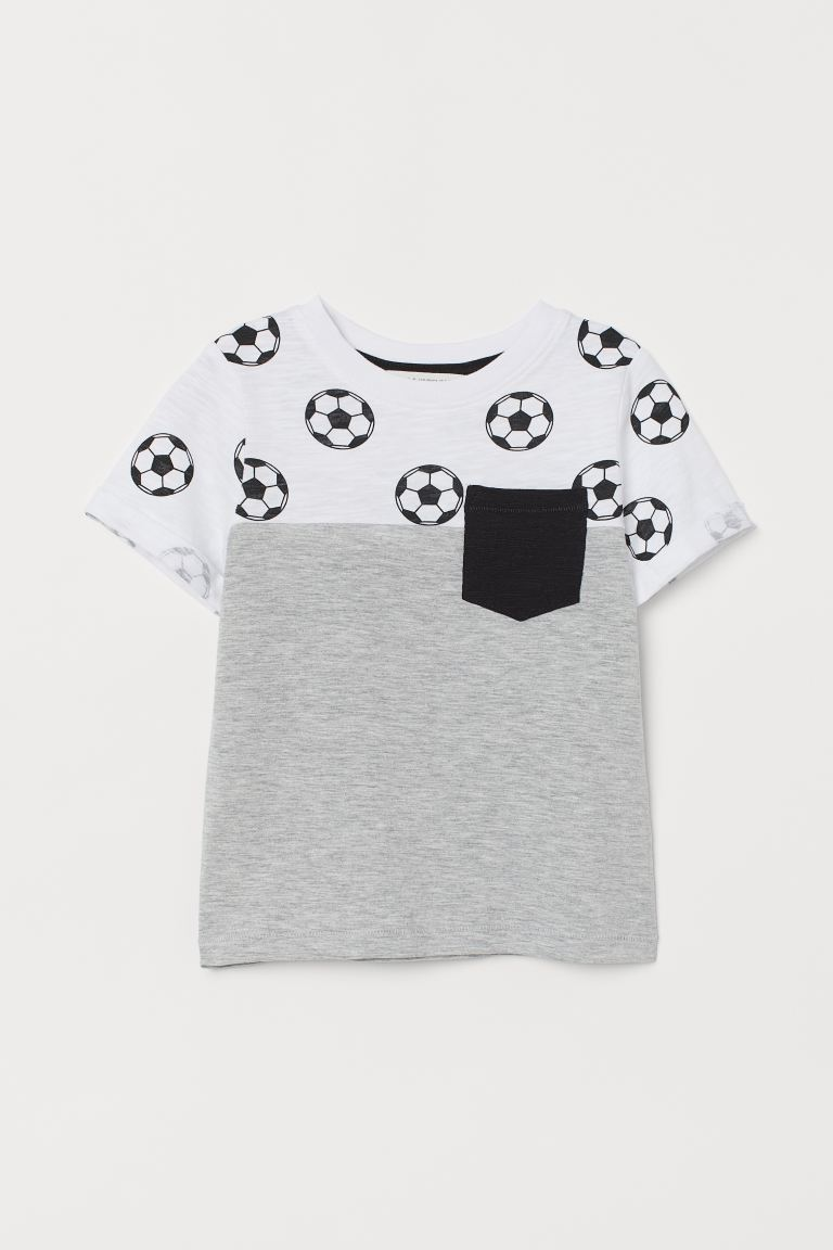 T-shirt with print motif
