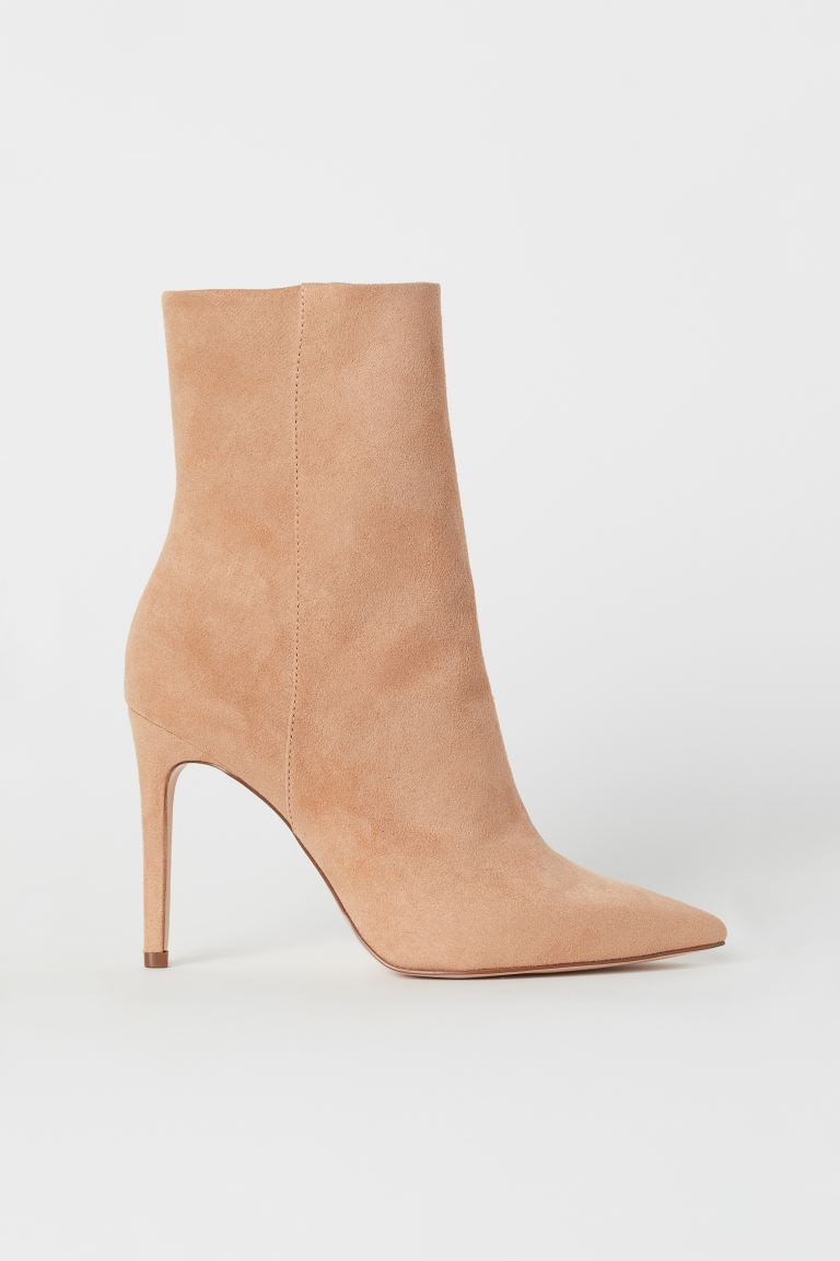 Ankle Boots - Powder beige - Ladies | H&M US