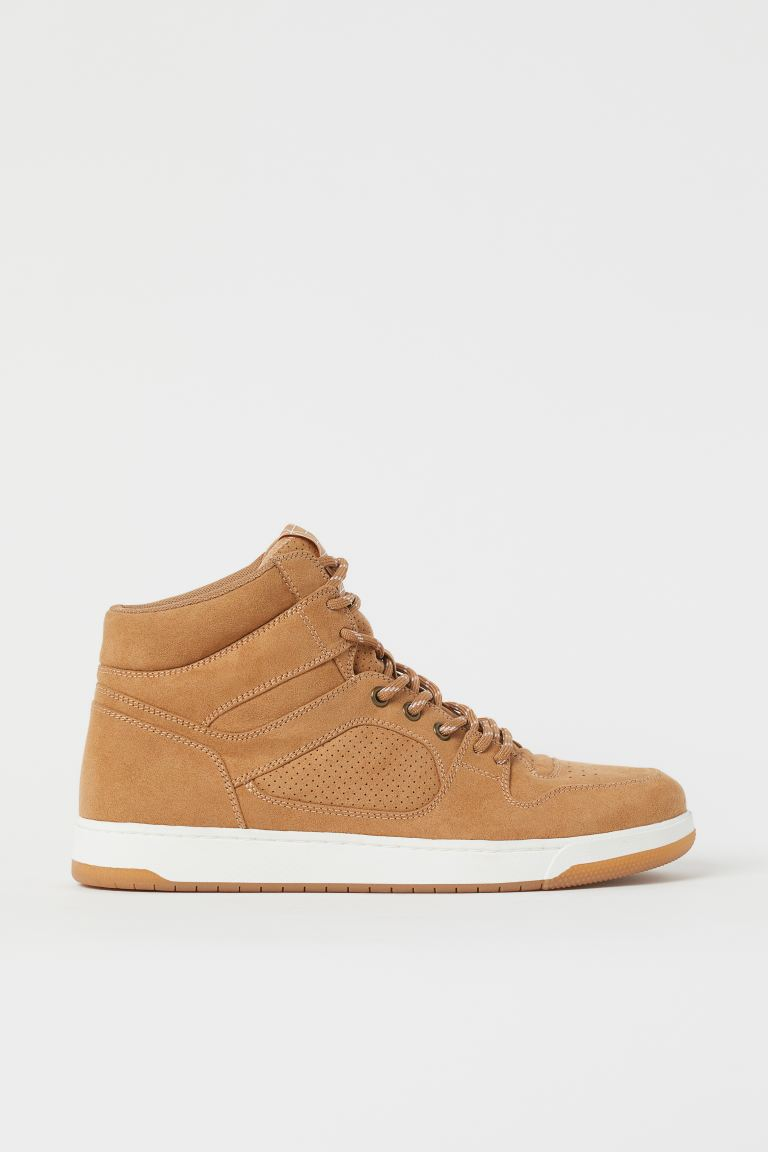 High Tops - Dark beige - Men | H&M US