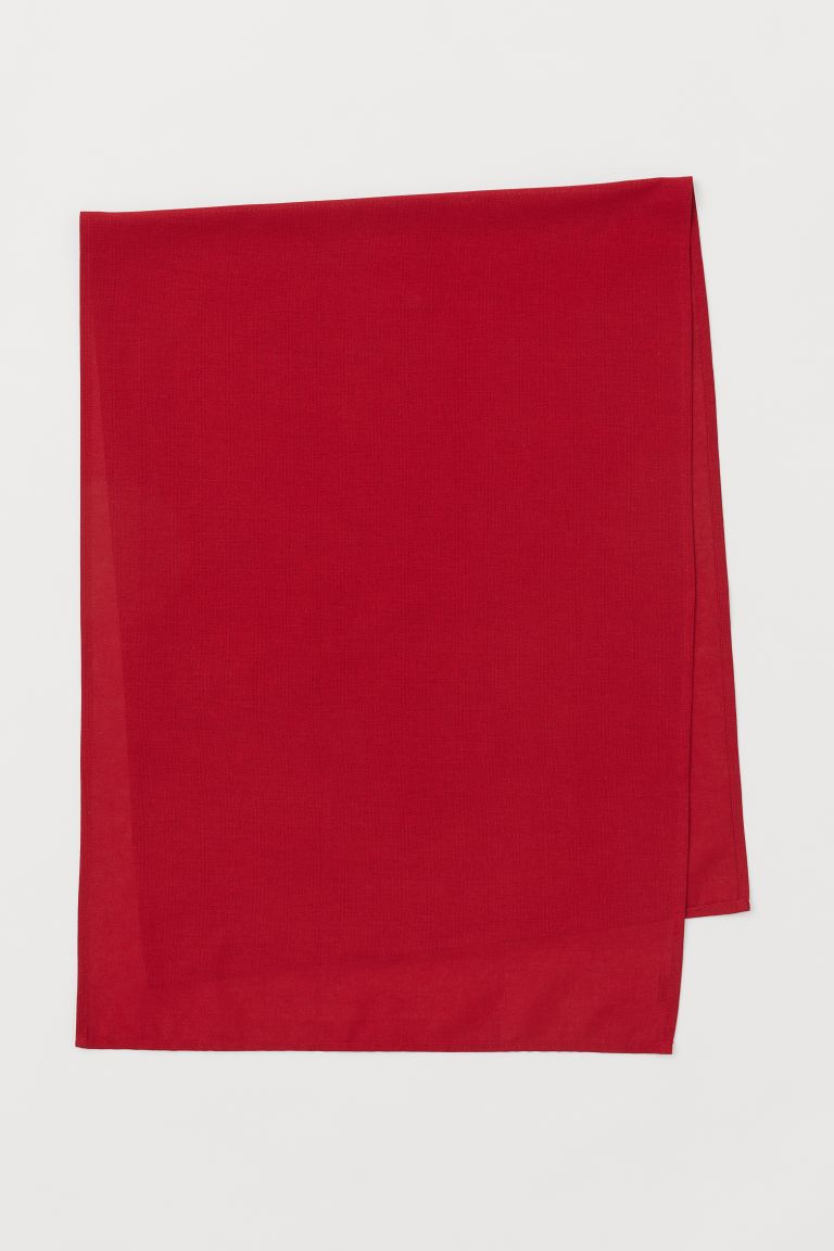 Cotton table runner - Red - Home All | H&M GB