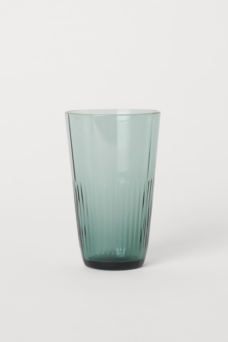 Bicchiere alto - Verde - HOME | H&M IT