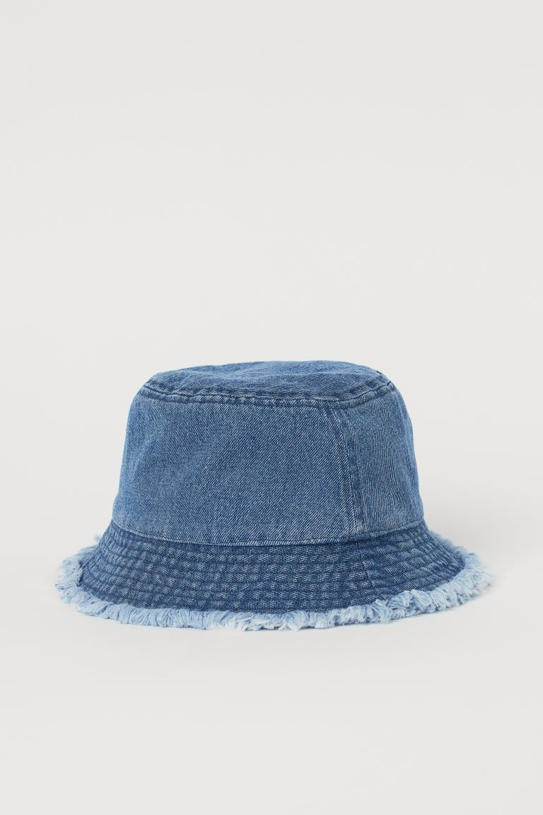 Cappello da pescatore - Blu denim - DONNA | H&M IT