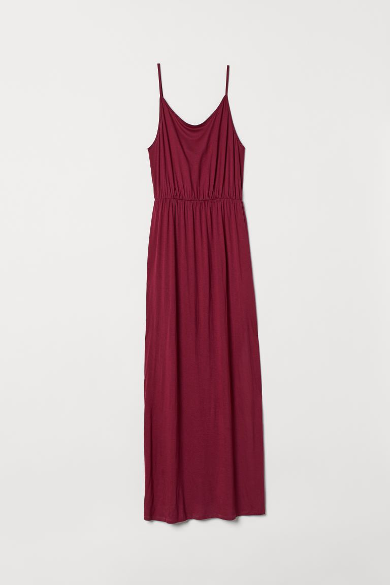 H&M+ Maxikleid - Weinrot - Ladies | H&M DE