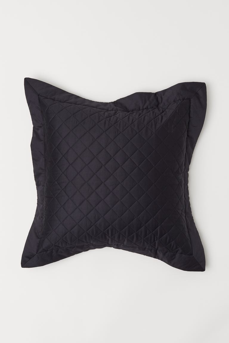 Quilted Cushion Cover - Black - Home All | H&M US