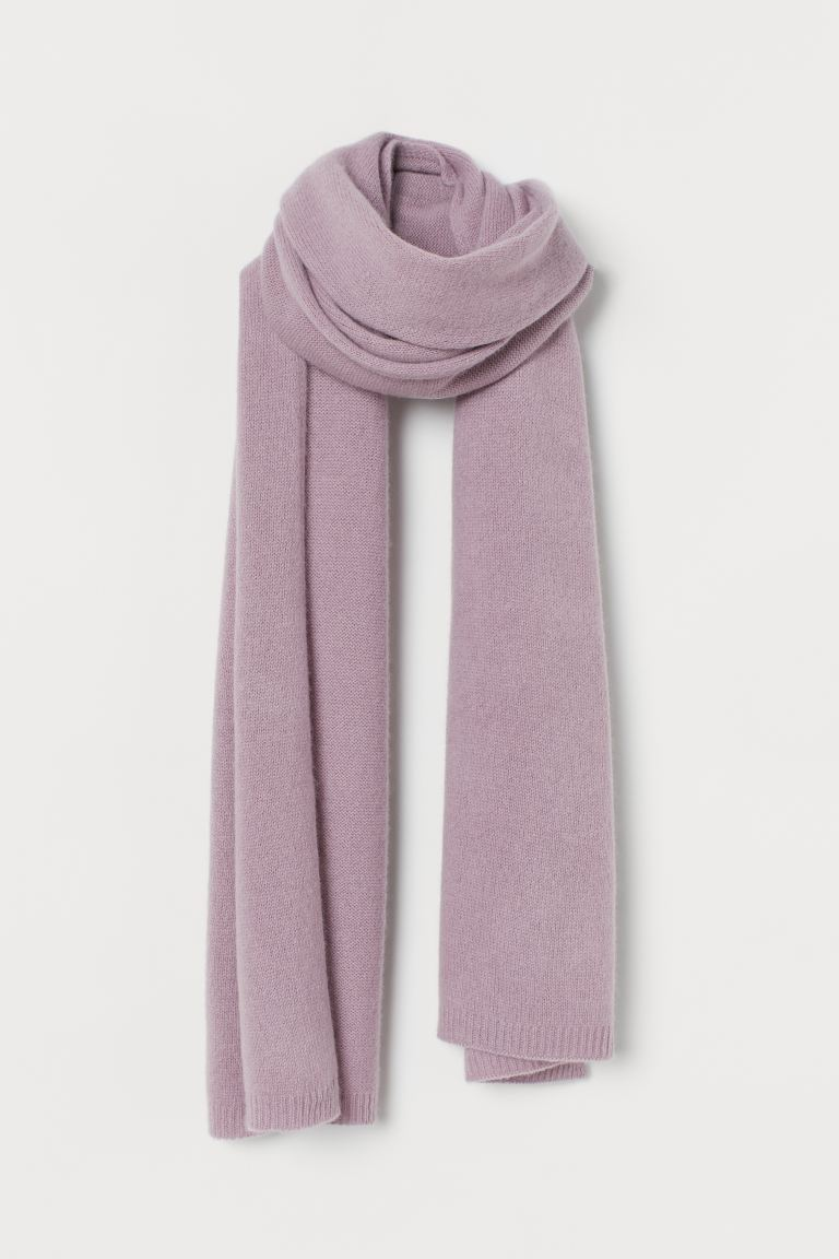 Cashmere scarf - Light purple - Ladies | H&M IE