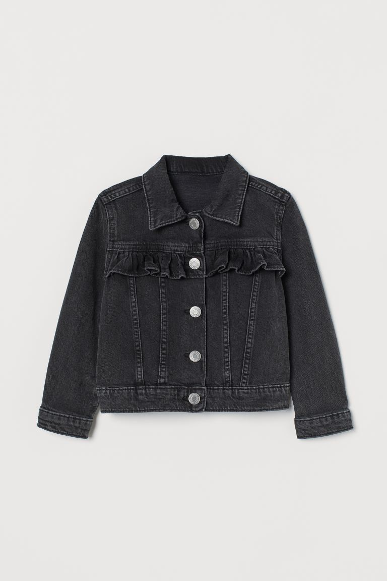 Denim Jacket - Black - Kids | H&M US
