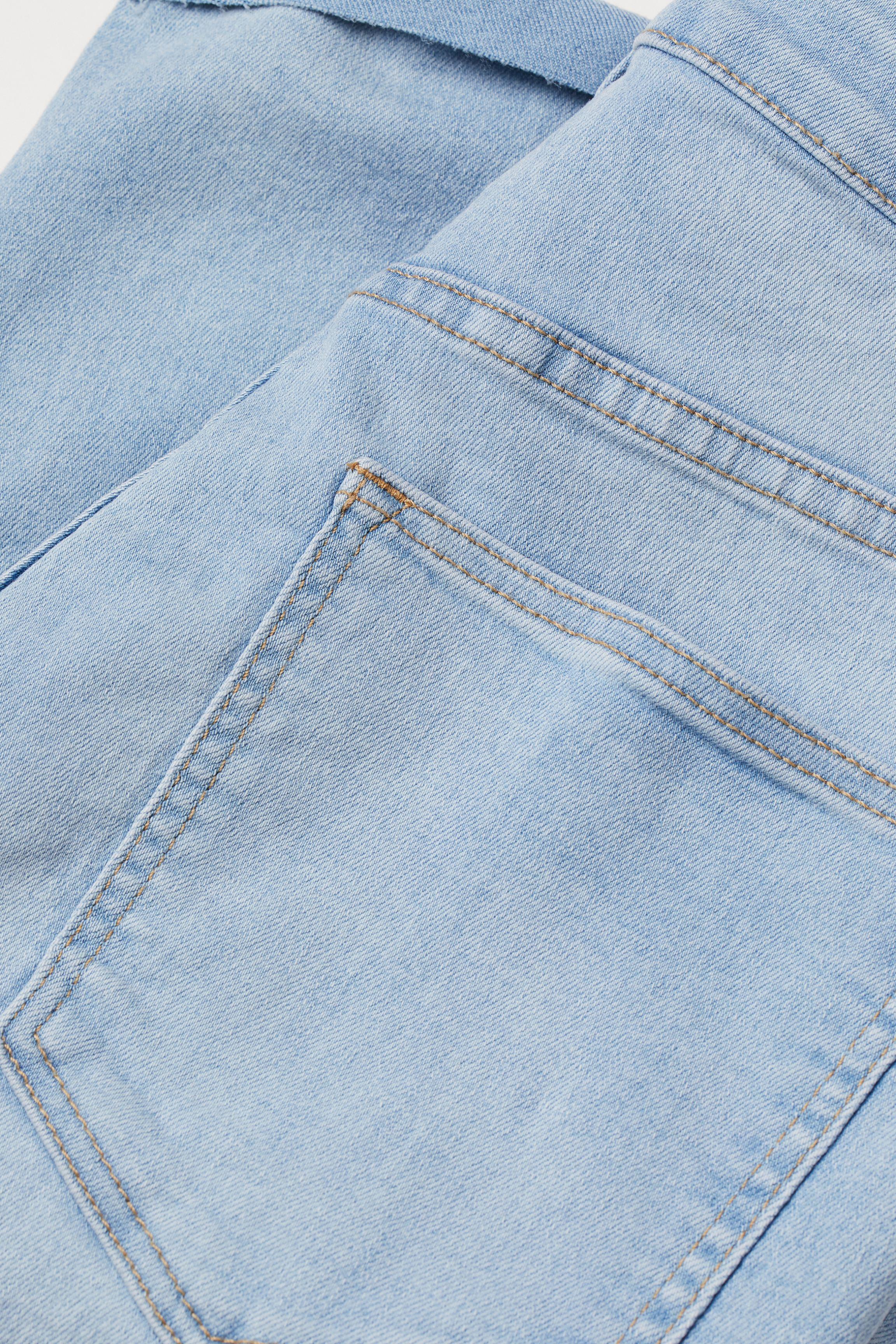 Denim Shorts High Waist