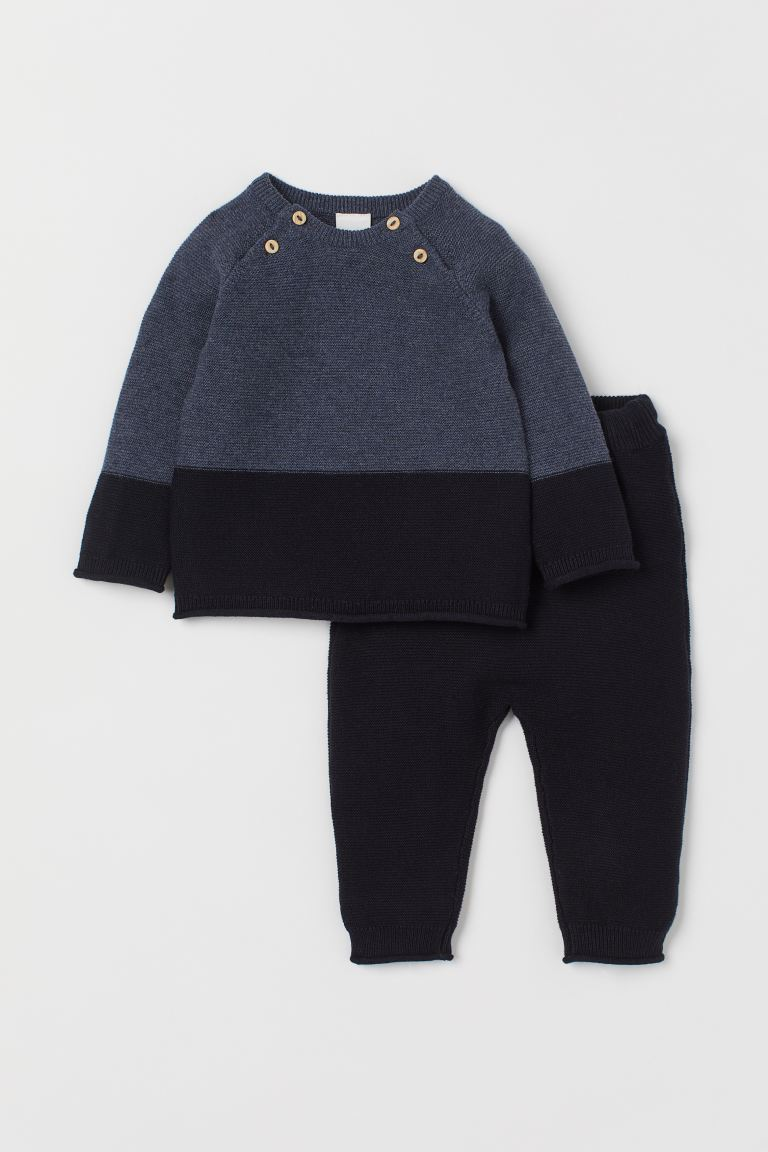 Jumper and trousers