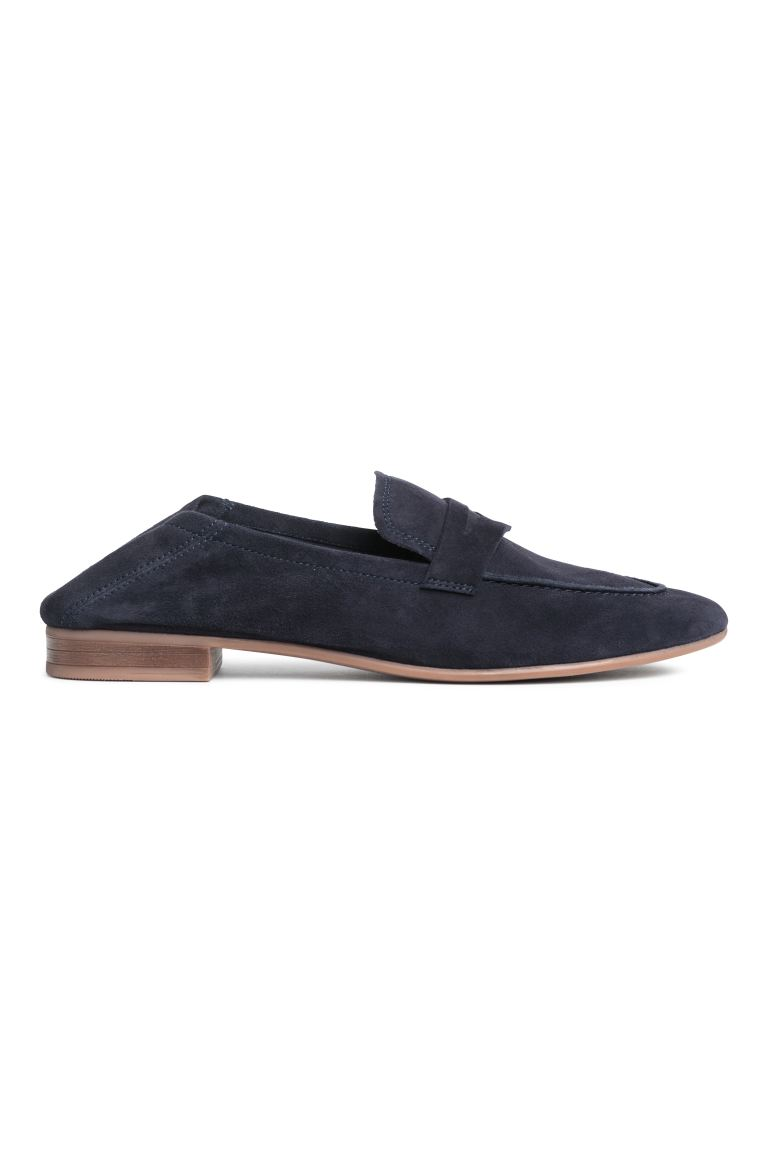 Loafers - Dark blue - Ladies | H&M CA
