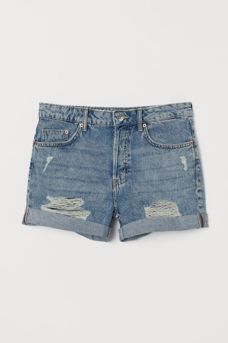Denimshorts Boyfriend - Hellblau - Ladies | H&M AT