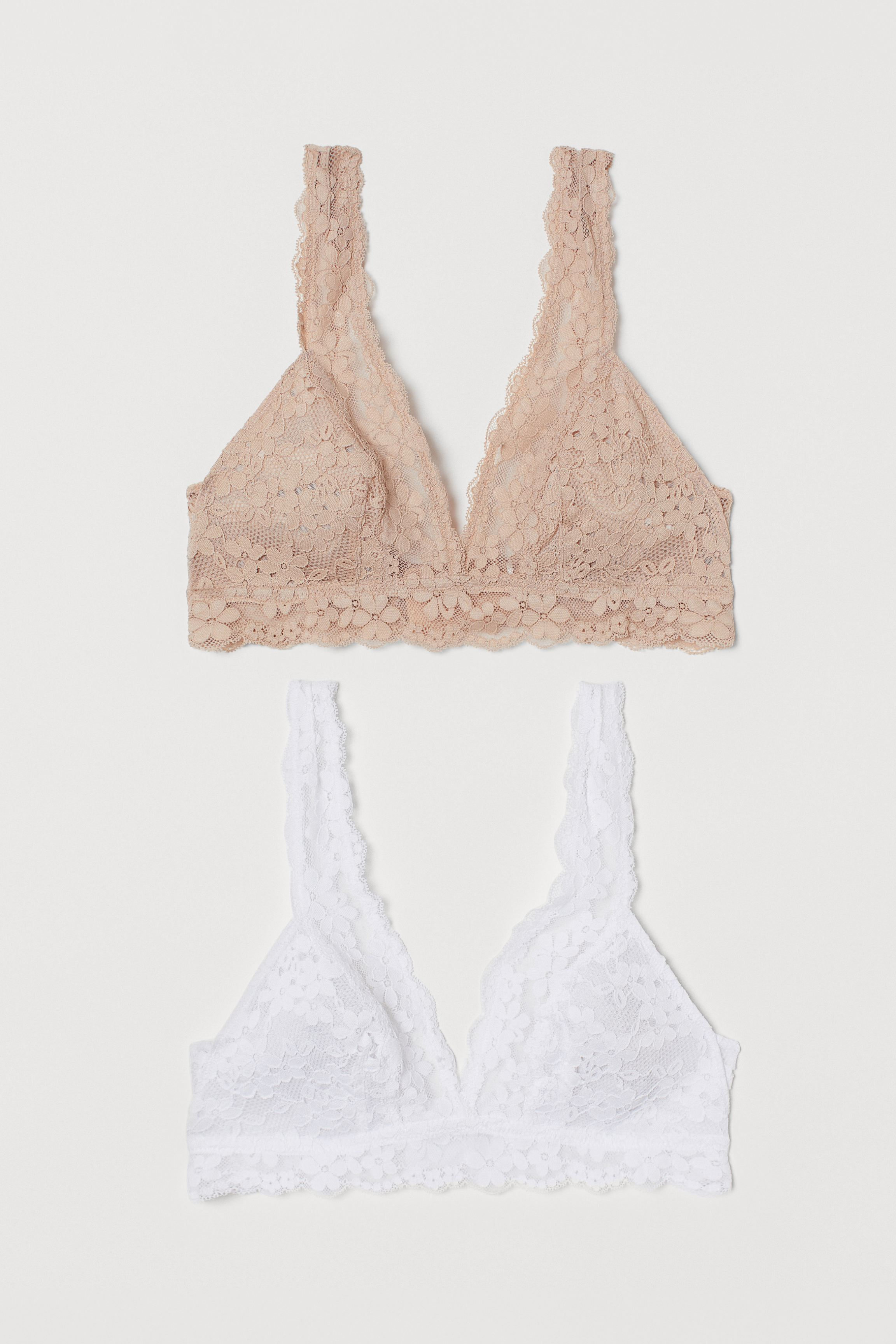 2-pack Soft-cup Lace Bras