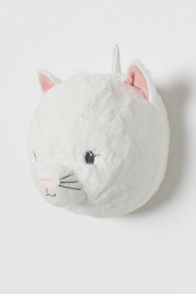 Wall decoration - White/Cat - Home All | H&M GB