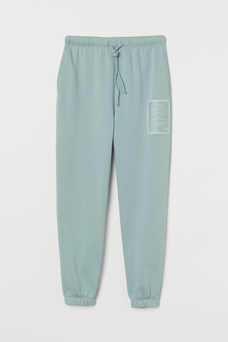 Ankle-length joggers - Light turquoise - Ladies | H&M
