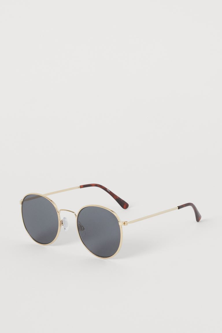 Polarised sunglasses - Gold-coloured - Ladies | H&M GB