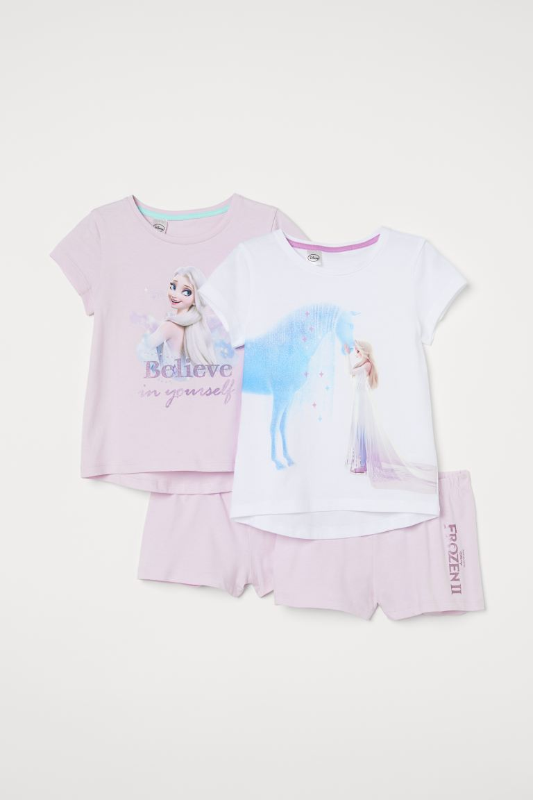 2-pack de pijamas - Blanco/Frozen - Kids | H&M MX