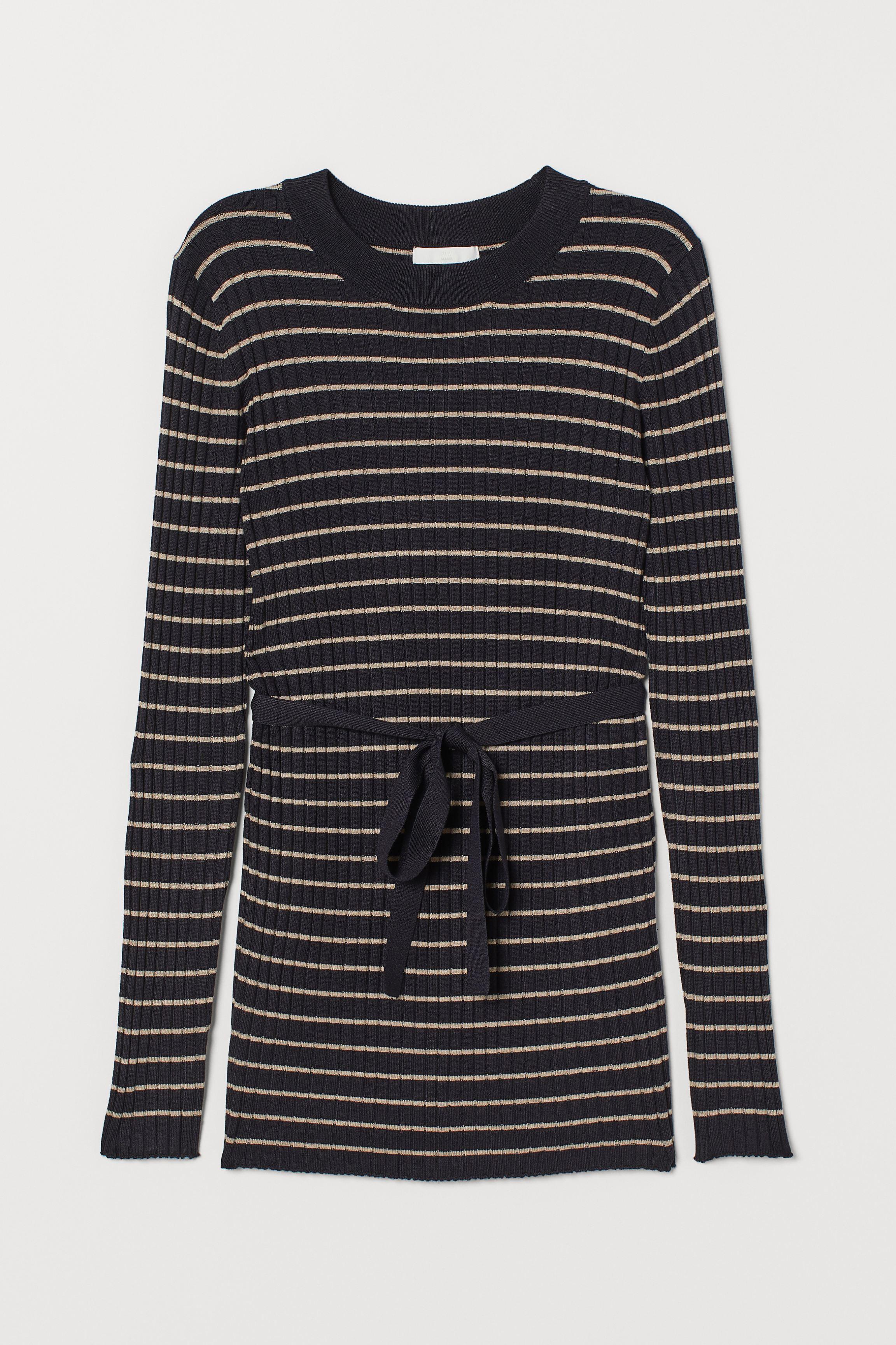 MAMA Ribbed Sweater