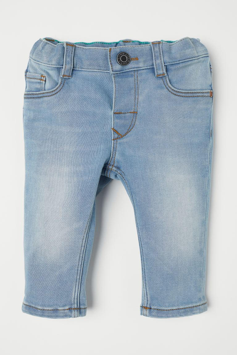 Slim Fit Super Soft Jeans - Light denim blue - Kids | H&M US