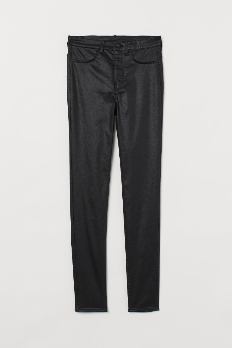 Super Skinny High Jeans - Nero/coating - DONNA | H&M CH