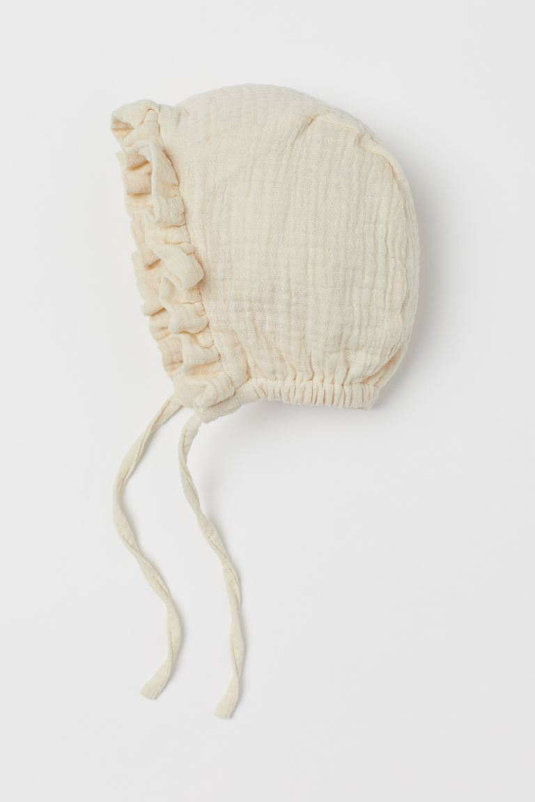 Gorro de algodón - Blanco natural - Kids | H&M MX