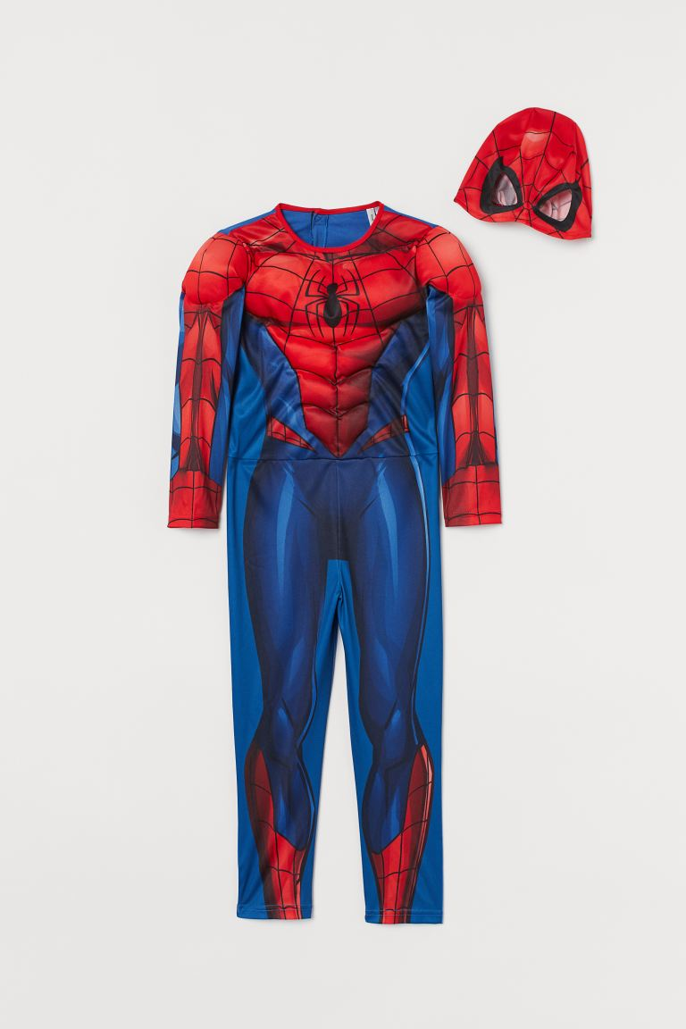 Costume da supereroe - Blu/Spiderman - BAMBINO | H&M IT