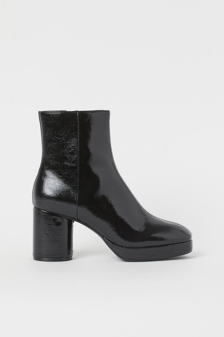 Warm-lined High Profile Boots - Black - Ladies | H&M US