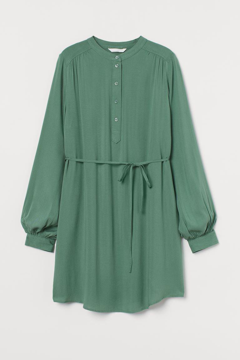 MAMA Tunic - Green - Ladies | H&M IE