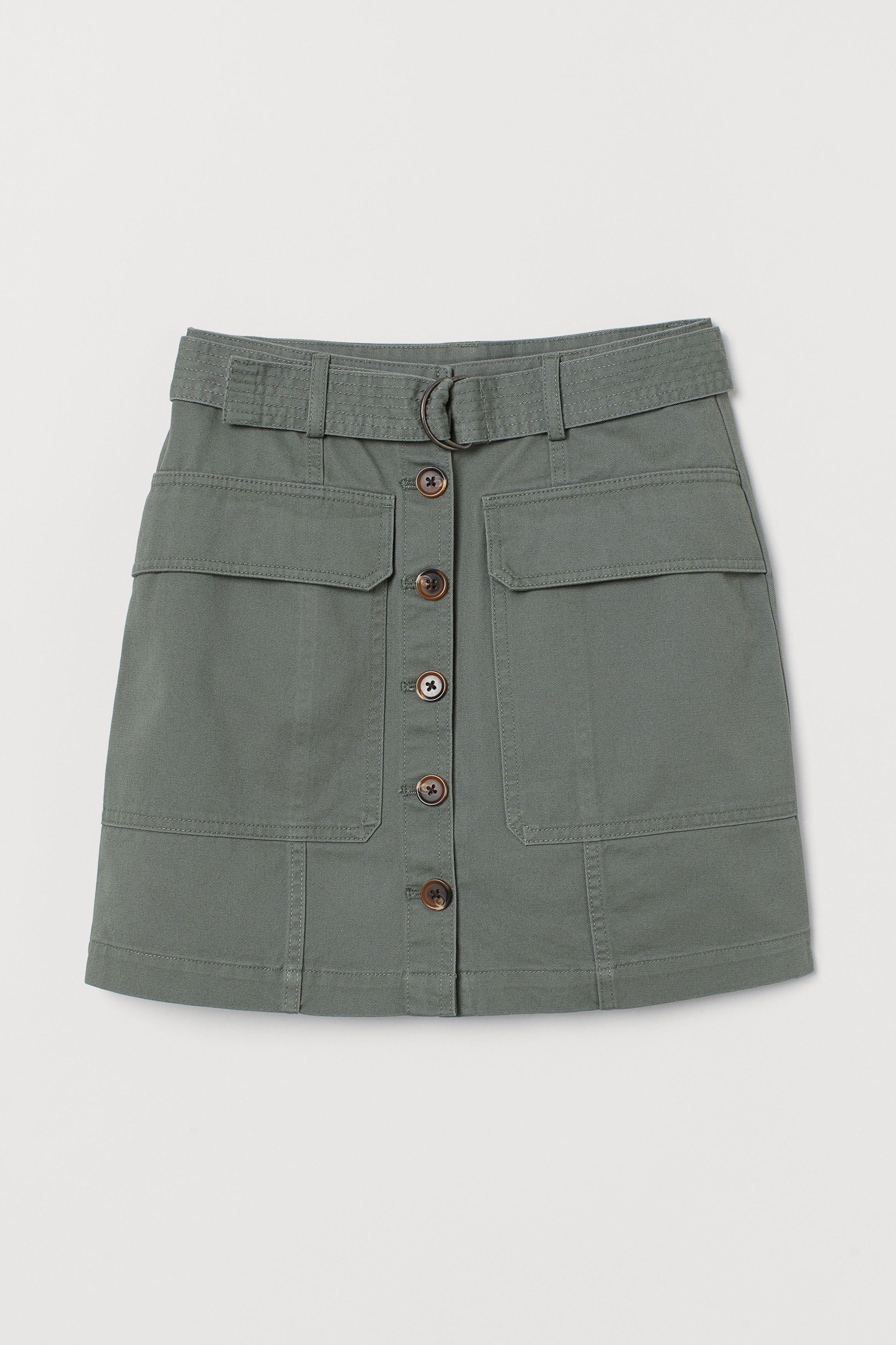 Short Utility Skirt
