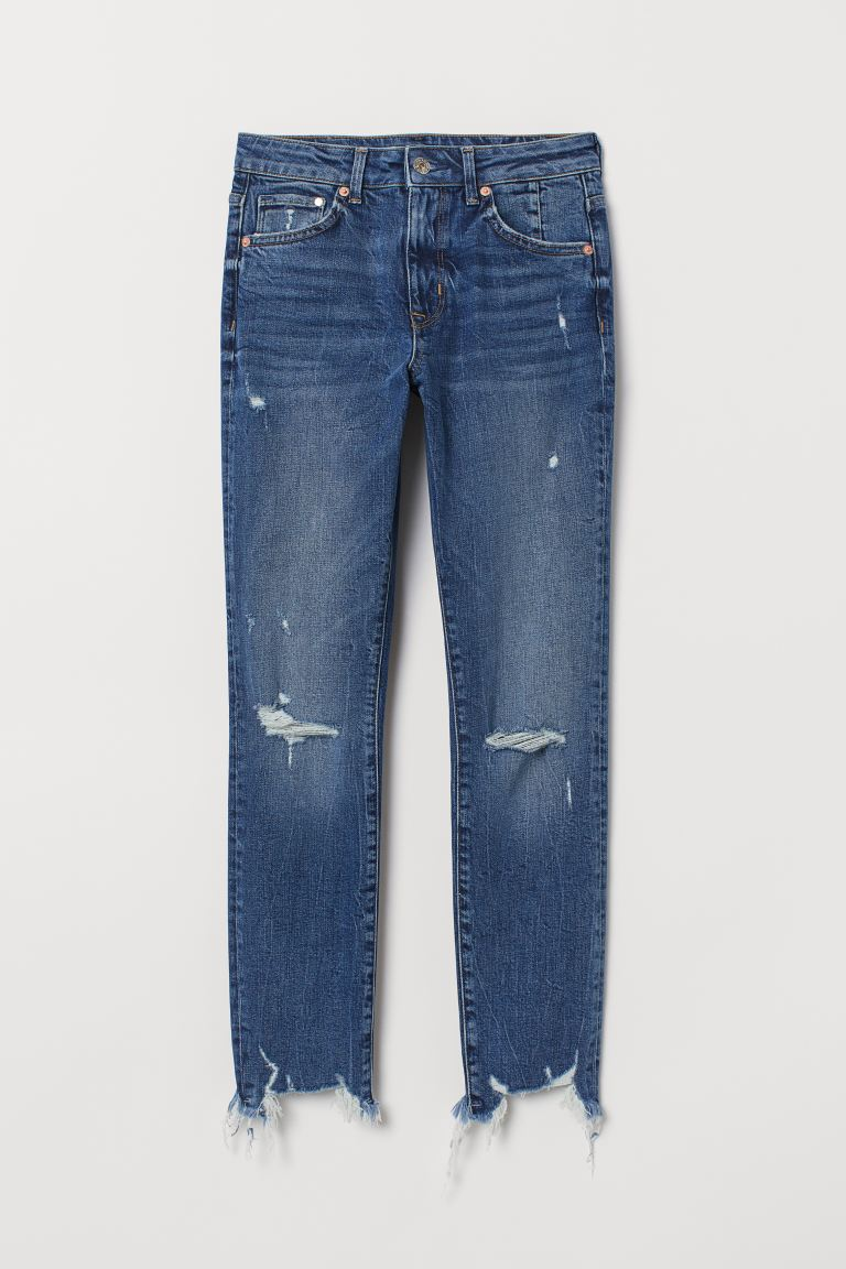 Skinny High Ankle Jeans - Blau - Ladies | H&M AT