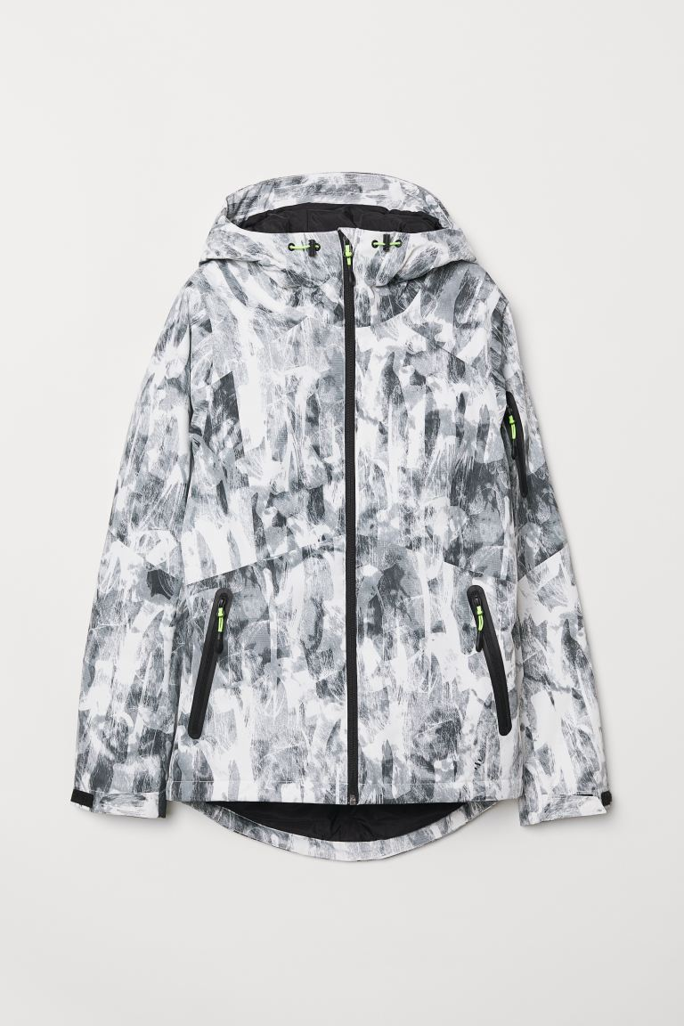 Ski jacket - White/Patterned -  | H&M GB