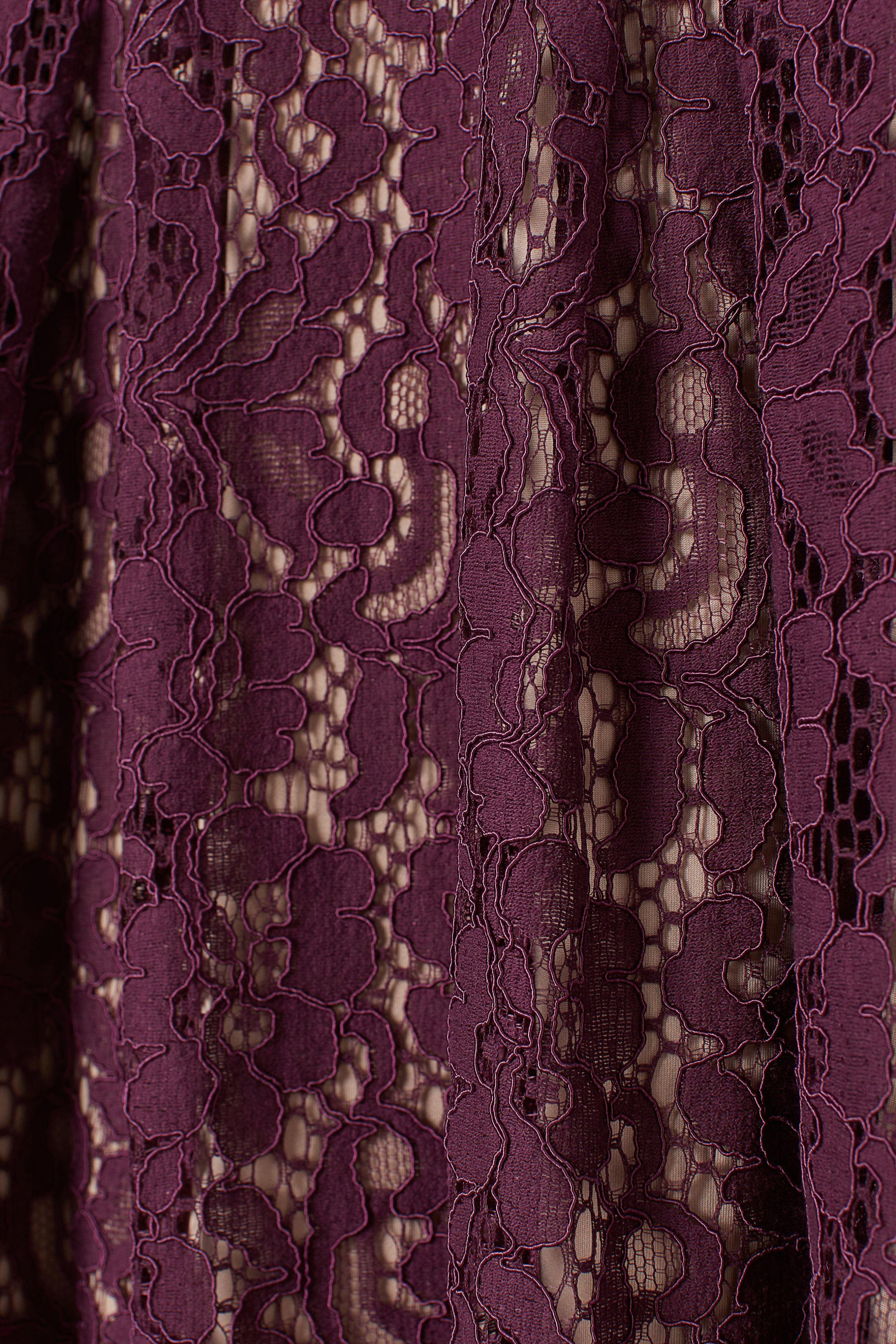 H&M+ Calf-length Lace Dress