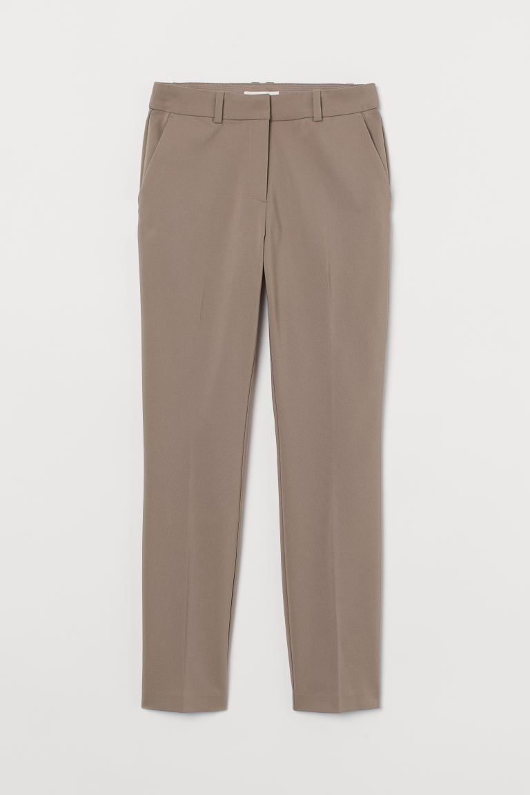 Slacks - Beige - Ladies | H&M US