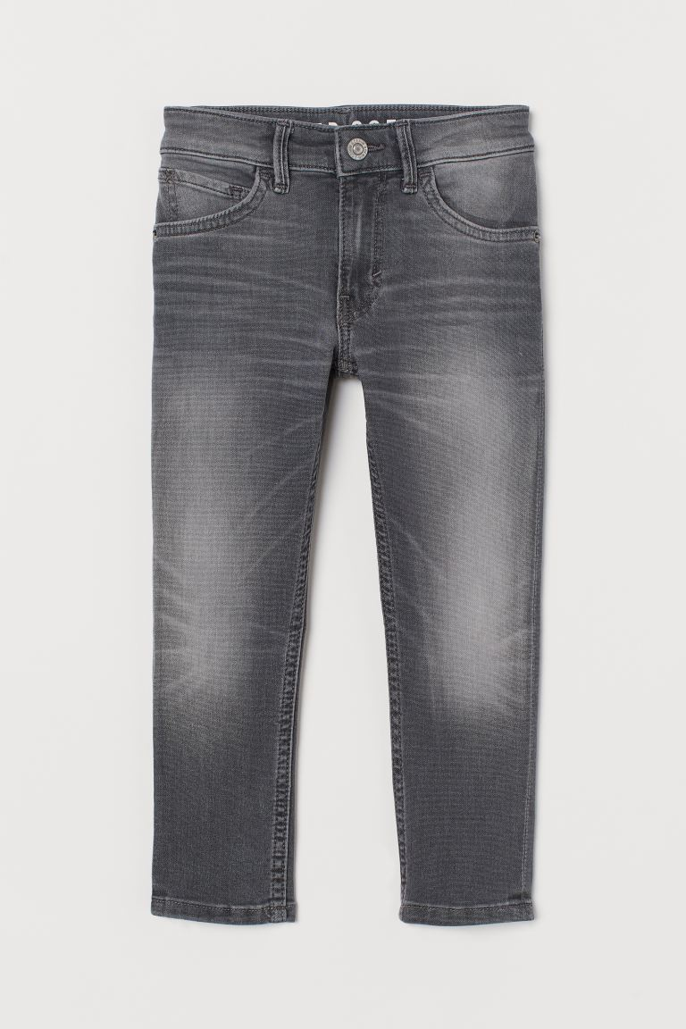 Super Soft Skinny Fit Jeans - Light grey - Kids | H&M AU