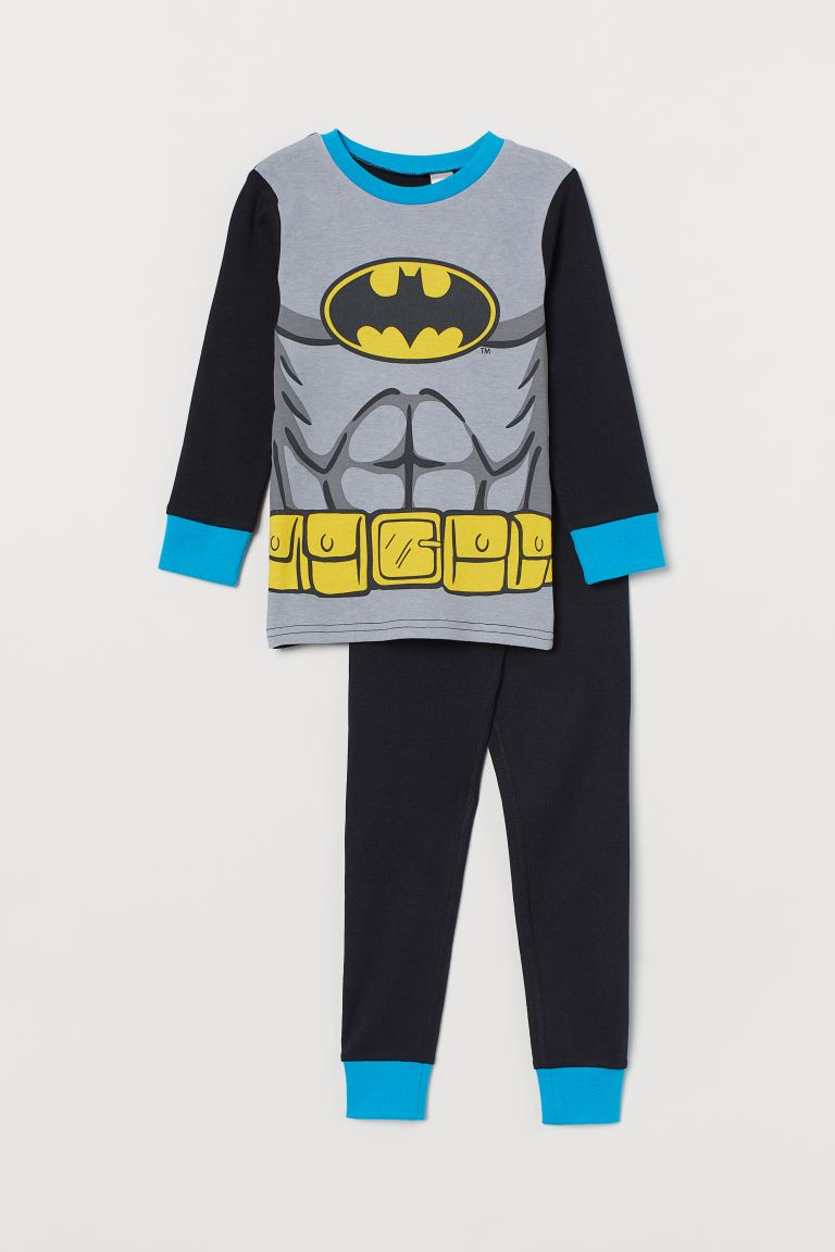 Pijama estampada - Negro/Batman - Kids | H&M MX