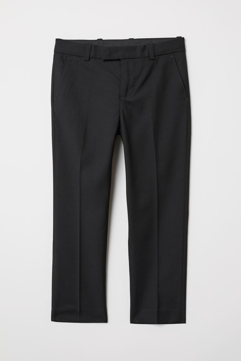 Suit Pants - Black - Kids | H&M US