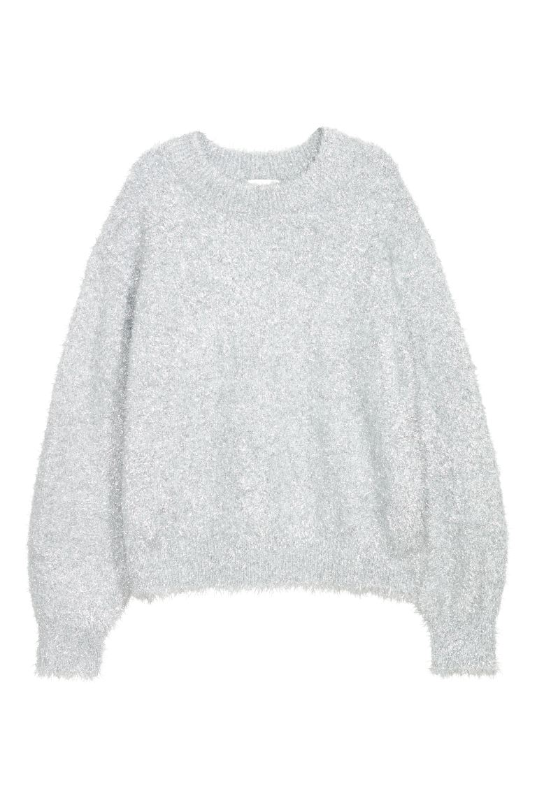 Knitted jumper - Grey - Ladies | H&M GB