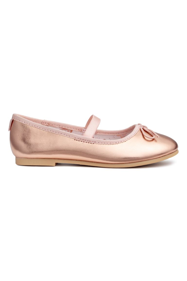 Ballet Flats - Rose gold-colored - Kids | H&M CA