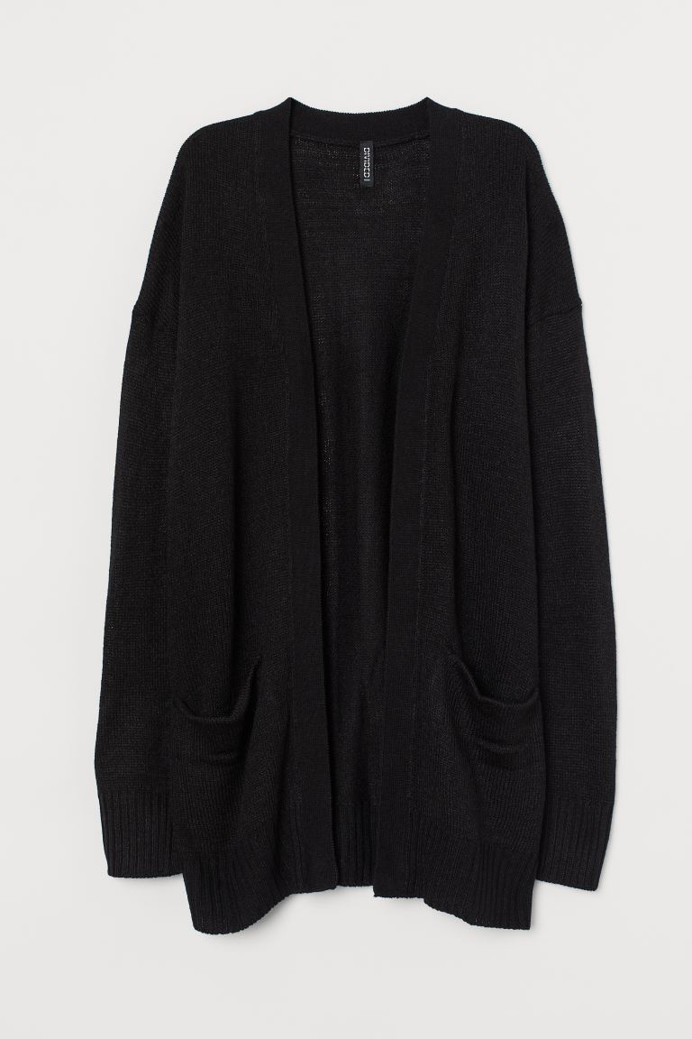 Strickcardigan - Schwarz - Ladies | H&M DE