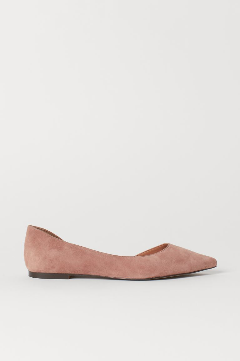 Spitze Ballerinas - Altrosa - Ladies | H&M AT
