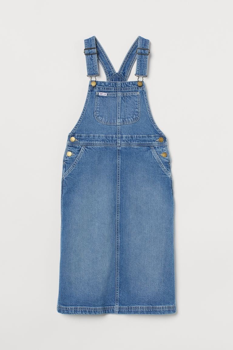Selekjole i denim - Denimblå - BARN | H&M NO
