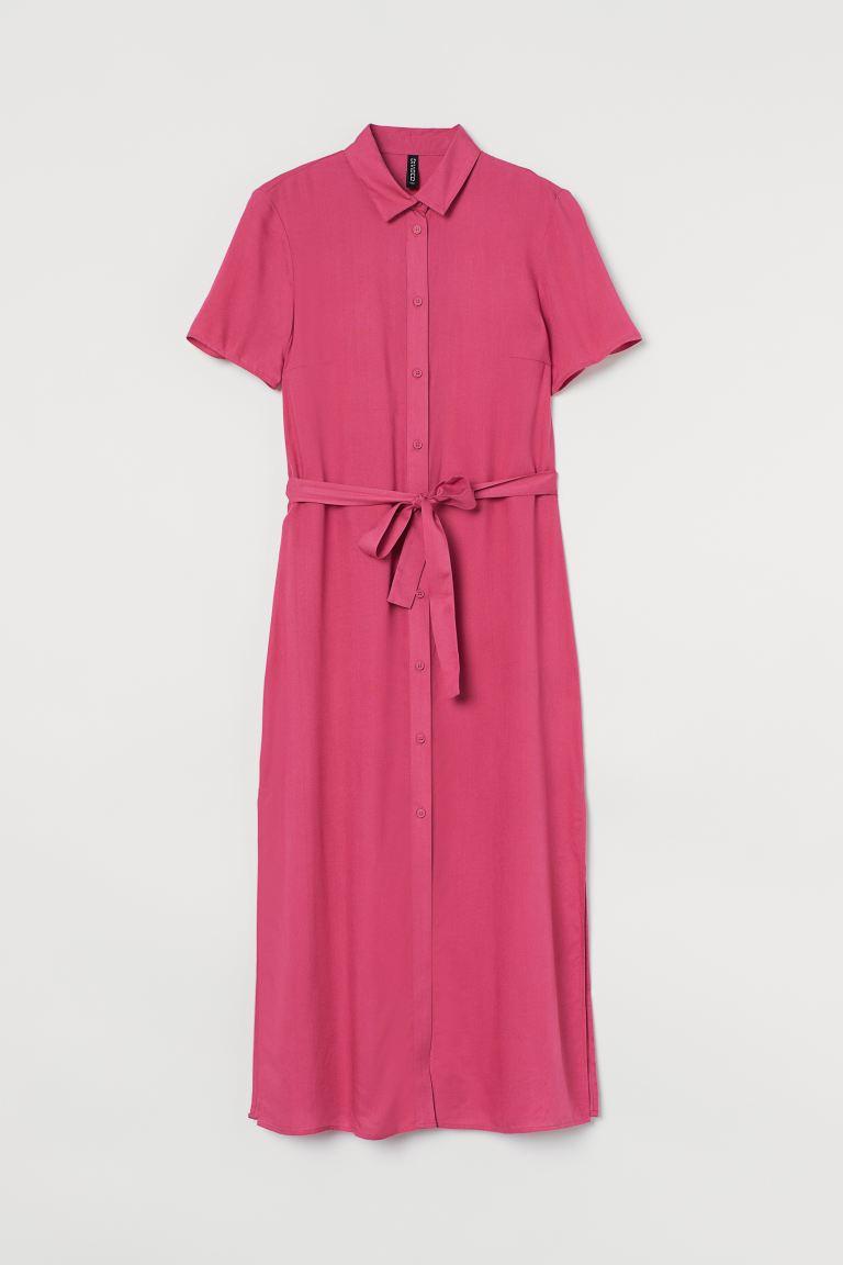 Shirt dress - Raspberry pink - Ladies | H&M