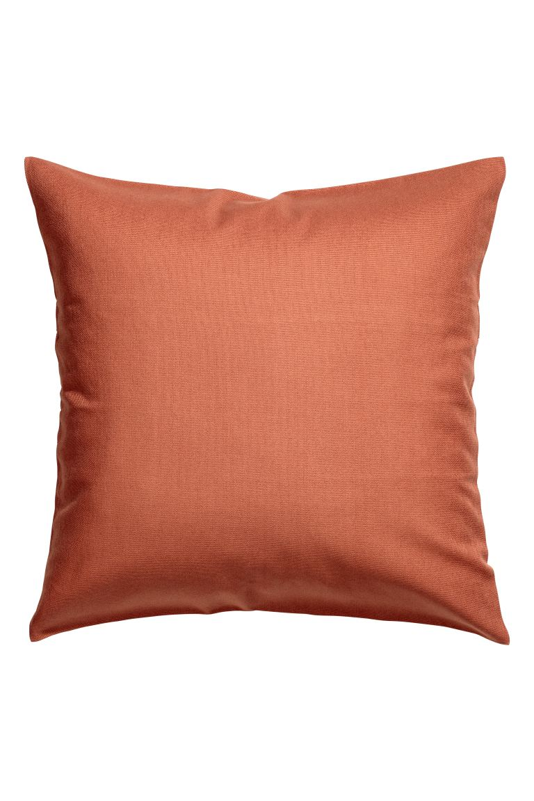 Putetrekk i bomullscanvas - Rust - Home All | H&M NO