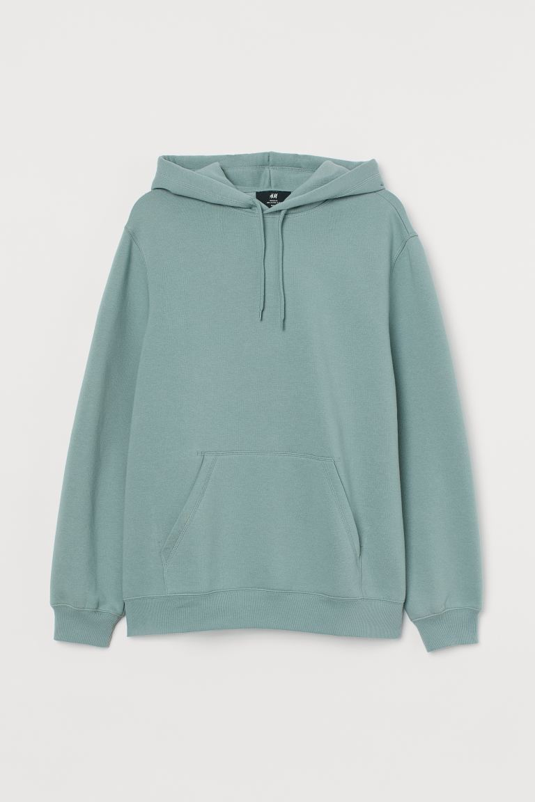 Relaxed-fit Hoodie - Mint green - Men | H&M CA