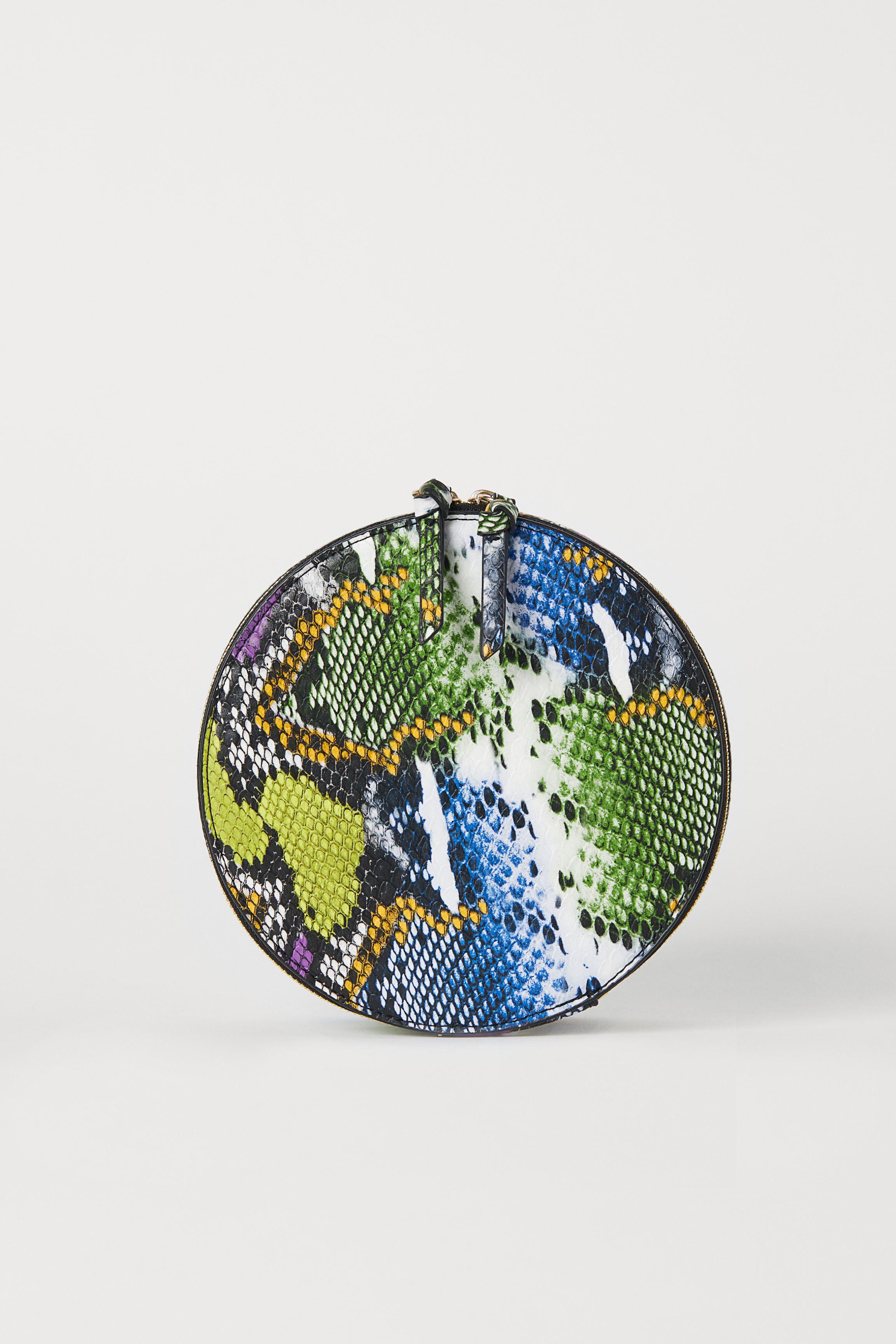 Round Makeup Bag