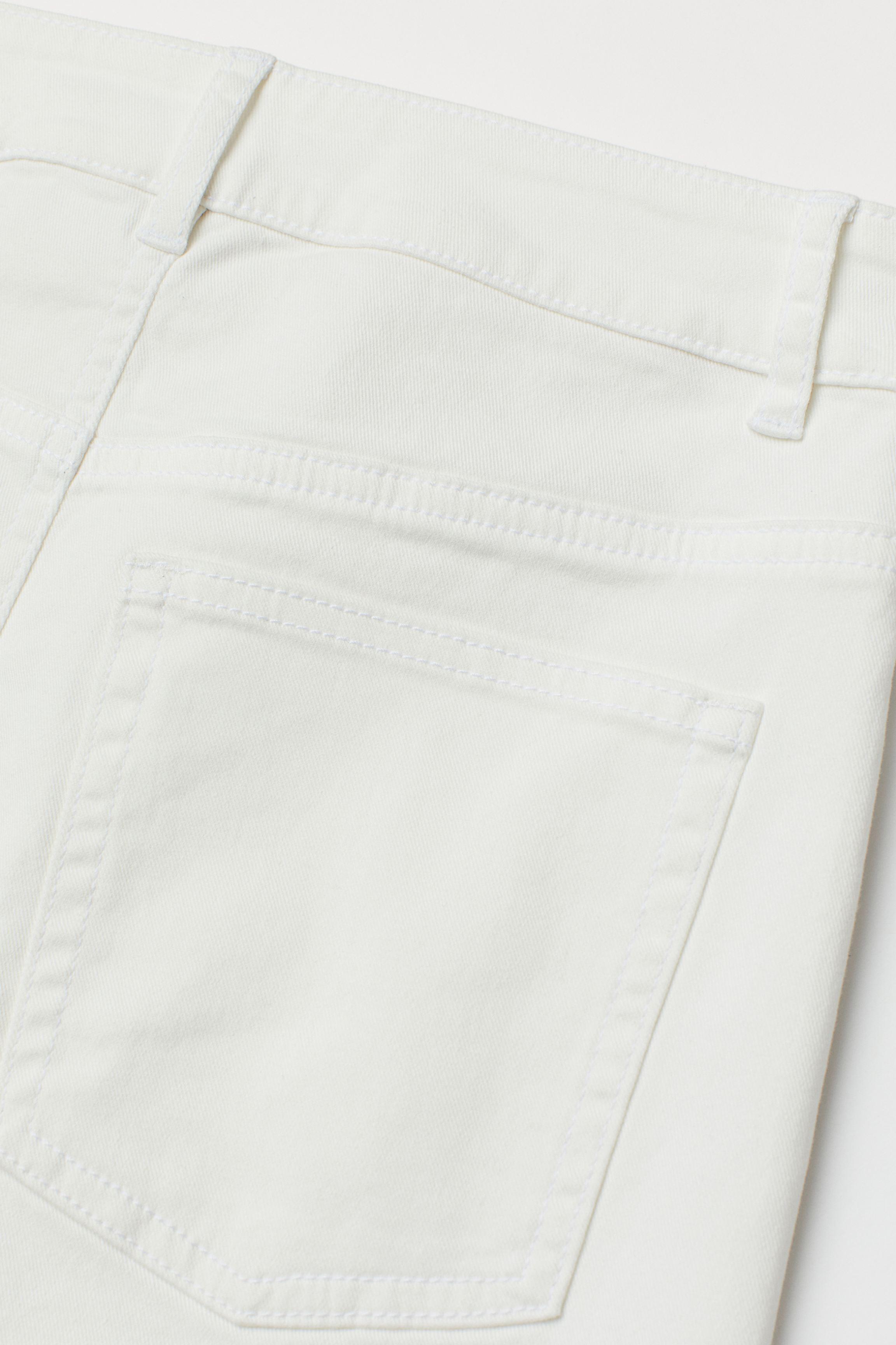 Twill Shorts High Waist